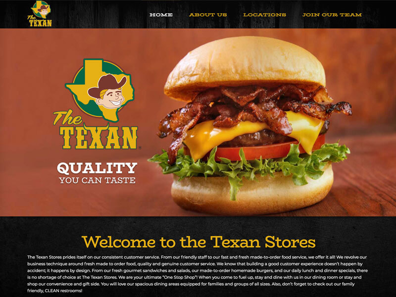 Store Web Design - Ranch House Designs - The Texan Stores