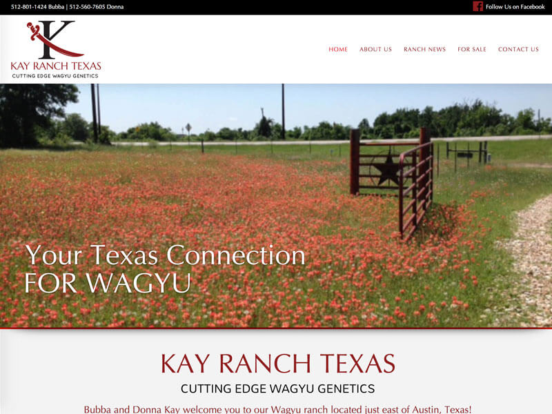 Wagyu Web Design - Ranch House Designs - Kay Ranch
