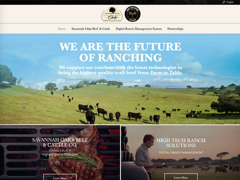 High Tech Ranch Solutions Web Design - Ranch House Designs, Inc.